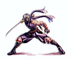 Ryu Hayabusa by BenjaminWiddowson