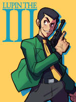 #aniMAY - day 10 - Lupin the Third by BenjaminWiddowson