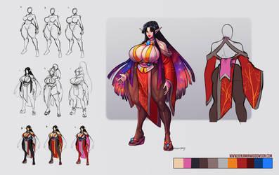 Subesan's character concept by BenjaminWiddowson