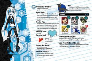 Monster High Wednesday Wendigo by Shadow-People