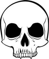 Another Vector Skull by Batalha-Enterprises