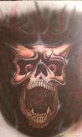 Skull from Hell by Batalha-Enterprises