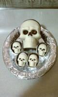 Chocolate Skulls by Batalha-Enterprises