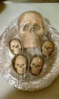 Dusted Choco-Skulls by Batalha-Enterprises
