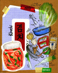 Kimchi Illustrated Recipe by faerhann