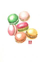 Macaron by faerhann