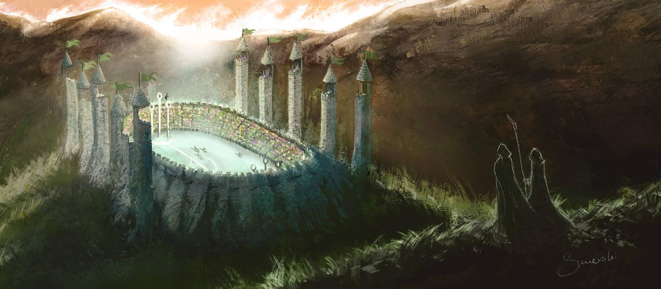 Философия в картинках - Страница 20 Quidditch_pitch_by_siwerski_dct0o5a-pre