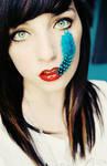 blue feather by bailey--elizabeth