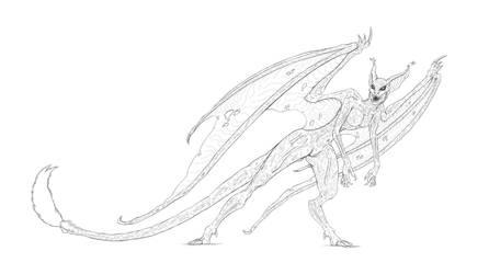 Gargoyle by Doudren