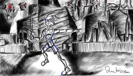 Runaway sketch by AntoinePhillips