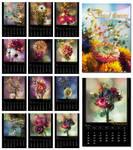 Calendar 2012 Dried Flowers by rejmann