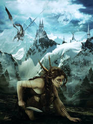 The Huntress by Alegion