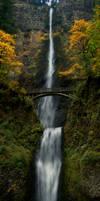 Multnomah Falls Oregon by Alegion