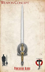 Two Handed Sword Concept by Alegion