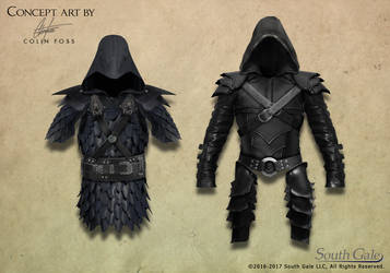 Game armor concept 1 by Alegion