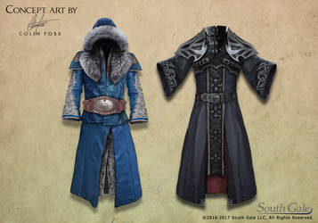 Game Concept Mage Armor 1 by Alegion
