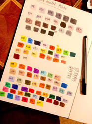 Awesome new markers! +Chart! by Seaninmate