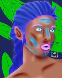 Strange alien chic by Seaninmate