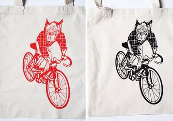 Bags: Singlespeed Wolf by sirwen