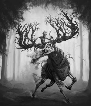 Goblin's Elk by TeroPorthan