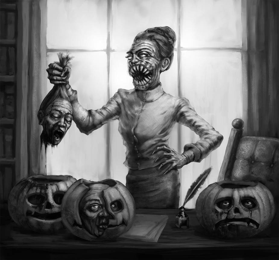 Ghoul Headmistress by TeroPorthan