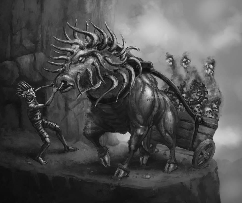 Goblin's Ox by TeroPorthan