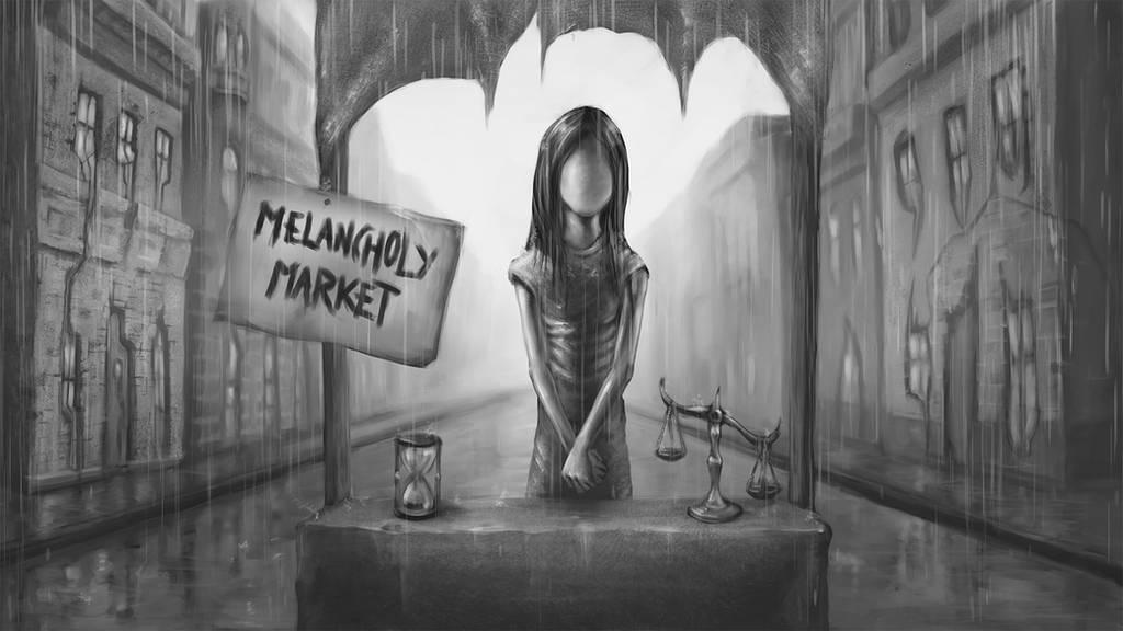 Melancholy Market by TeroPorthan