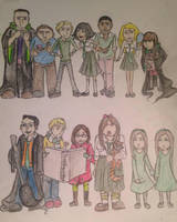 Slytherin Classmates by DidxSomeonexSayxMad