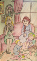 Black Sisters: Meeting the Family by DidxSomeonexSayxMad