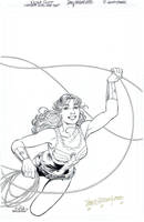WONDER GIRL Special #1 Cover - Scott/Hazlewood by DRHazlewood