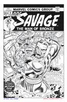 DOC SAVAGE #6 (Comic) Cover Recreation HAZLEWOOD by DRHazlewood