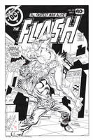 FLASH #275 Rejected Cover Recreation HAZLEWOOD by DRHazlewood
