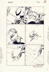 ANIMAL MAN #5 Final Page TRUOG/HAZLEWOOD Morrison by DRHazlewood