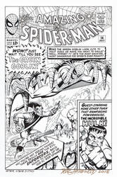 AMAZING SPIDER-MAN #14 Cover Recreation HAZLEWOOD by DRHazlewood