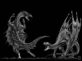 Dragons by Deepcore1