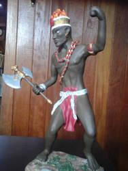 African Warrior 2 by Mago2007