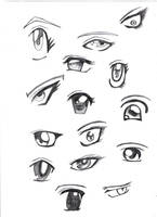 eyes manga by Olguusia