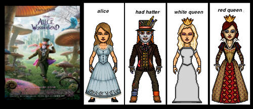 Alice In Wonderland  ( 2010 Movie ) by the-collector-13