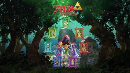 Zelda A Link Between Worlds By Zupertompa On Deviantart