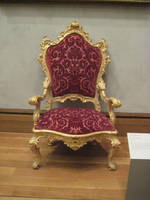 Royal chair by minystock