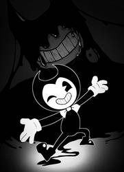 Bendy by flatw00ds