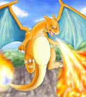 Charizard:Lizardon by DragonessBahamut
