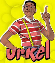 Steven Q Urkel by GabeLamberty
