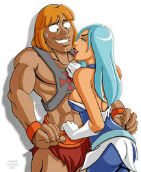 Frosta Loves He-Man by GabeLamberty