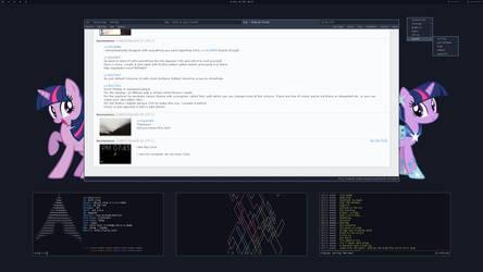 Twily Linux Desktop by dwv91