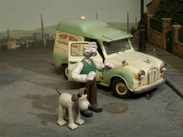 Wallace and Gromit by JuniorBubbles