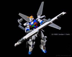 GX-9999 Gundam X Maoh by jullbei
