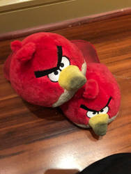 Angry bird slippers  by chingadera841