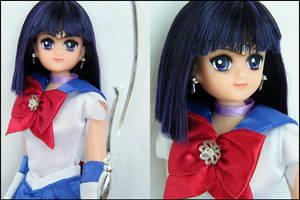 Sailor Saturn doll by EngelMech
