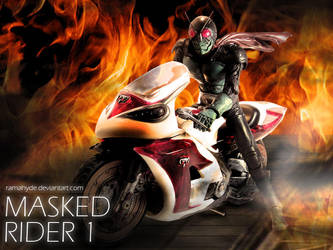 MASKED RIDER BURN SERIES 4 by RAMAHYDE